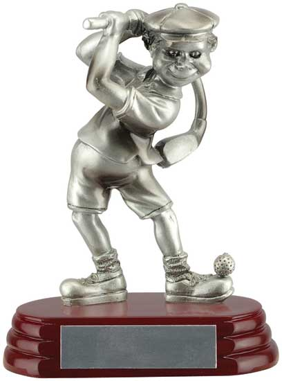 Male Golfer Fun Award - 6""