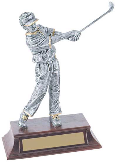"Male Golf Trophy - 8"" RF00006PG"