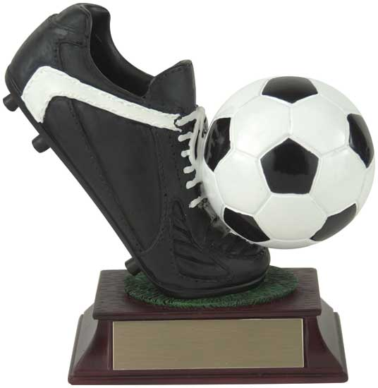 Soccer Cleat and Ball Award - RF00020FC 4""