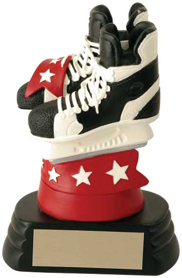 Skates Hockey Resin - 5 1/4""