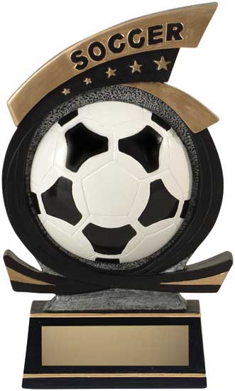 Soccer Sport Star Resin Award