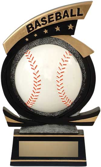Baseball Sport Star Resin Award