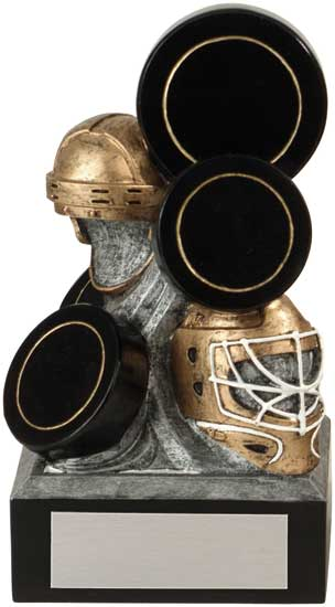 Hockey Stacked Resin Award - 6 1/4""