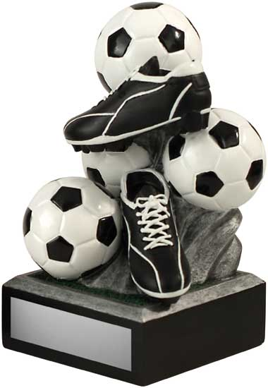Soccer Stacked Award