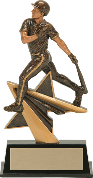 Baseball (M) Aztec Gold Star Power Trophy
