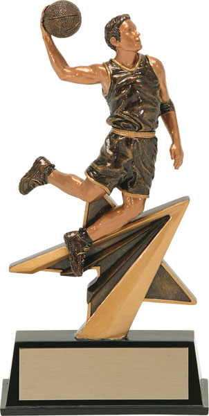 Basketball (M) Aztec Gold Star Power Trophy