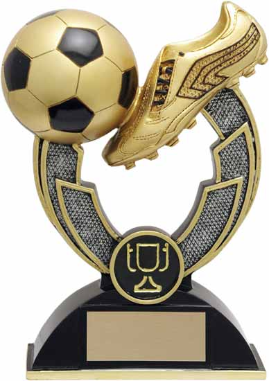 Soccer Varsity Resin Award - 6 1/2""