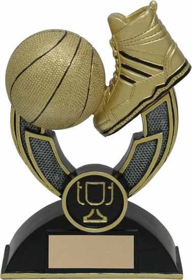 Basketball Varsity Resin Award - 4 1/2""