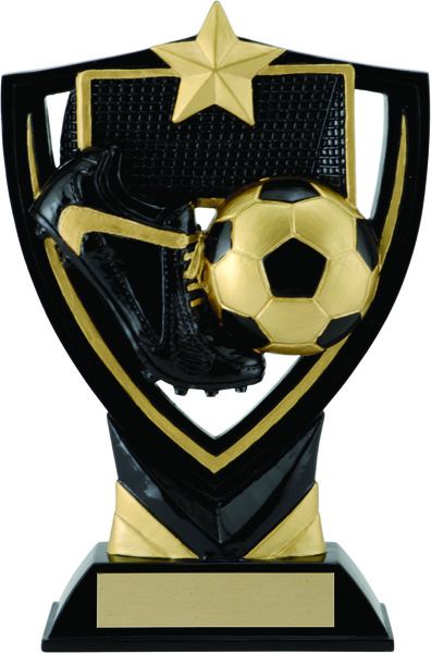 Soccer Apex Shield Award - 6 1/2""