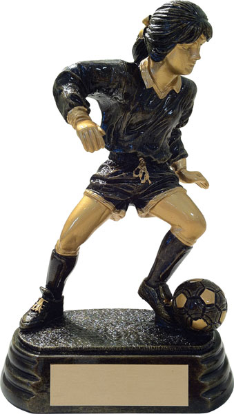 Female Soccer Player Award - 7""