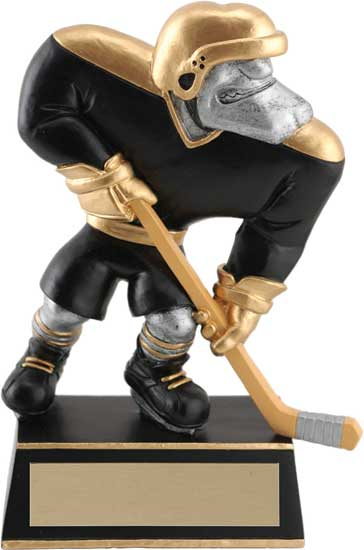 Hockey Muscle Head Figure - 5 1/2""