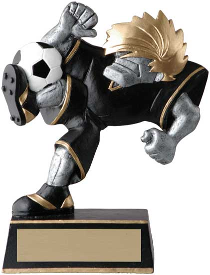 Soccer Muscle Head Award - 5 1/2""