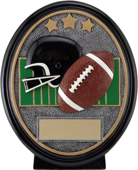 Football Oval Resin Award