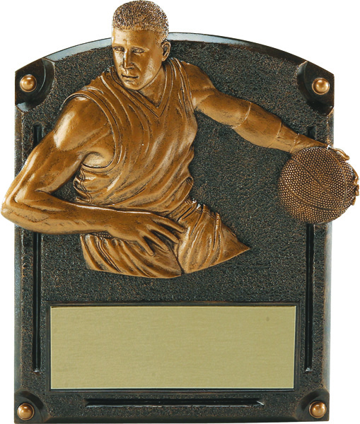 Basketball Legends of Fame Annual Plaque - Male