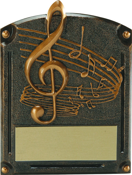 Music Legends of Fame Annual Plaque