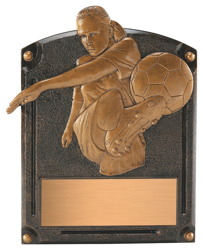 Soccer Legends of Fame Annual Plaque - Female