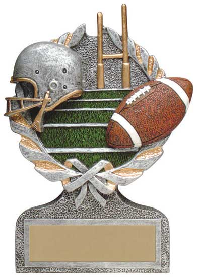 Football Full Color Stand Alone Award