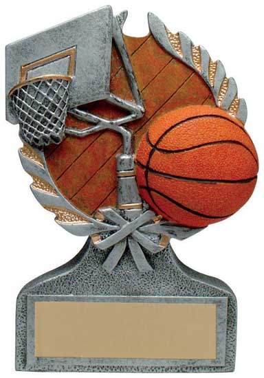 Basketball Full Color Stand Alone Award