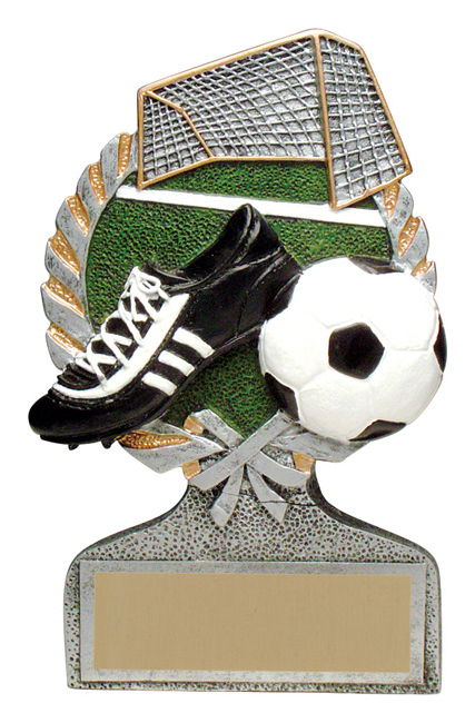 Soccer Full Color Stand Alone Award