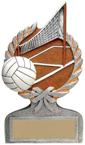 Volleyball Full Color Stand Alone Award