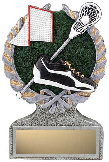 Lacrosse Full Color Stand Alone Award