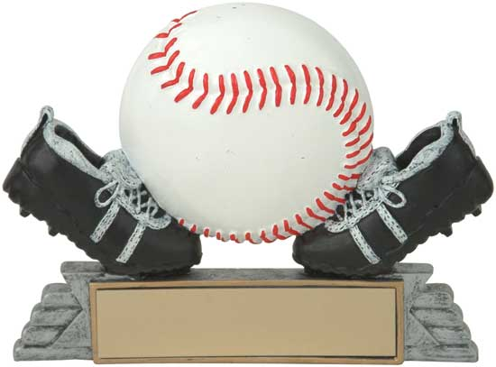 Cleats and Ball Baseball Award - 4""