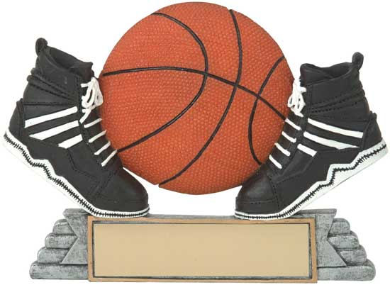 "Basketball Shoes and Ball Award - 4"" RS21052FC"