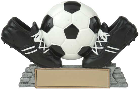 Soccer Cleats and Ball Award - RS21053FC 4""