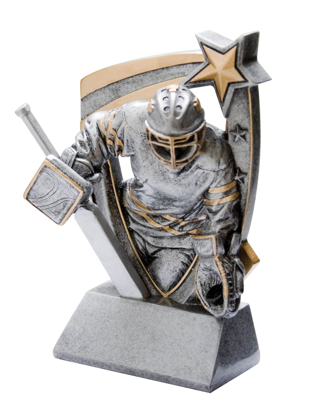 Goalie 3-D Resin Award
