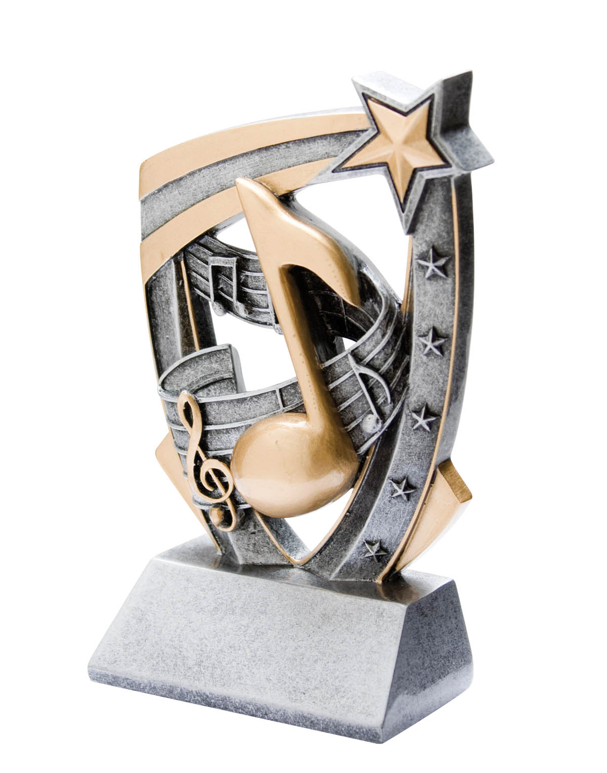 Music 3-D Resin Award