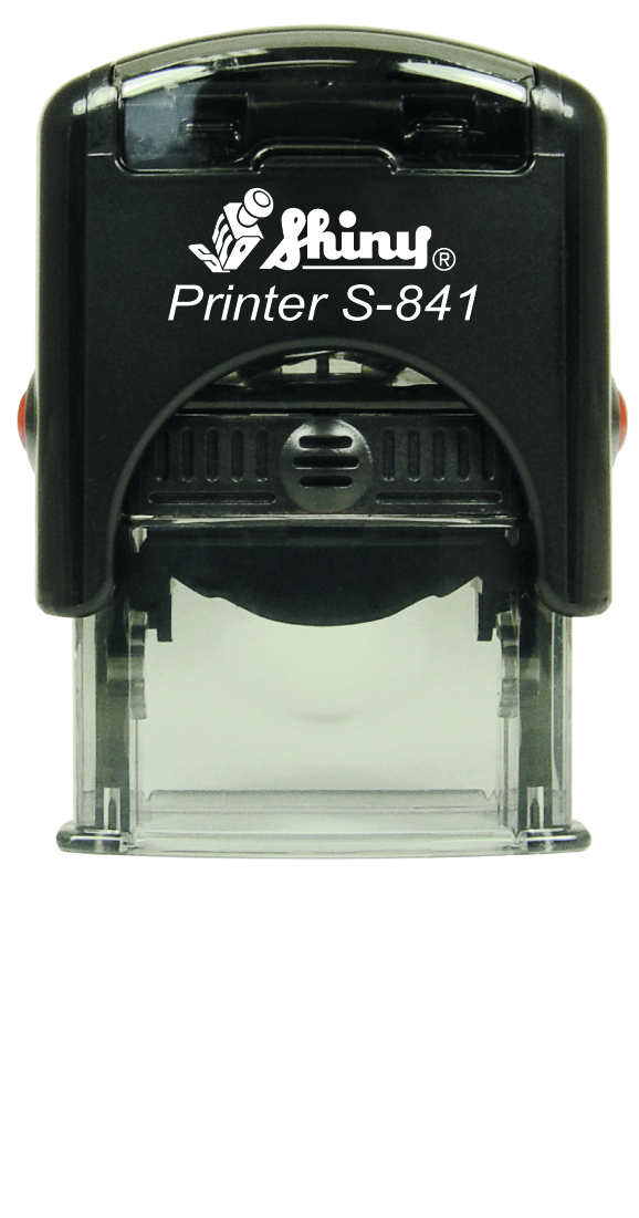 "Shiny S-841 Self Inking Stamp (1"" x 3/8"")"