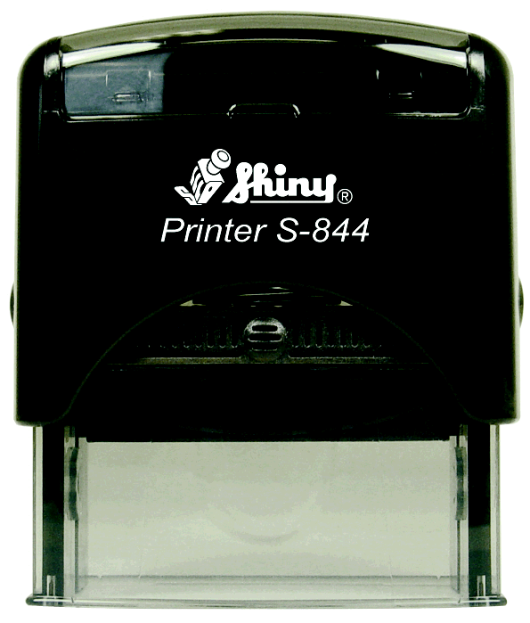 "Shiny S-844 Self-Inking Stamp (2 3/8"" x 7/8"")"