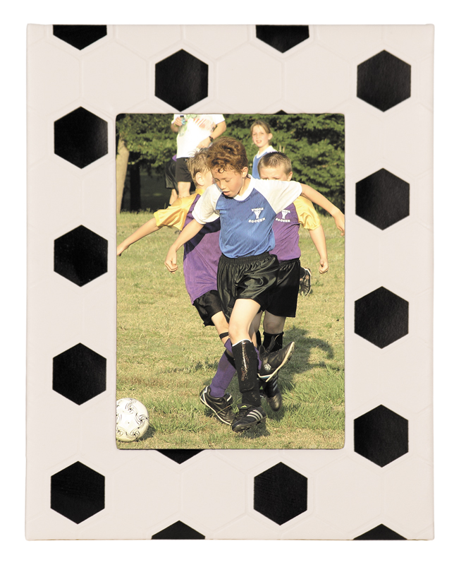 "Soccer Sport Picture Frame - 6 7/8"" x 8 3/4"""