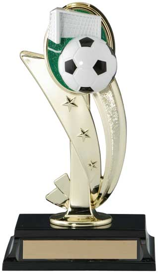 Soccer 3D Sports Riser Trophy - 8""