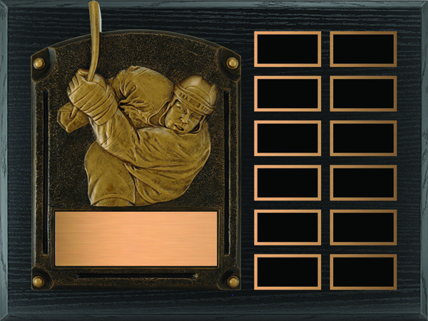 Hockey Legends of Fame Annual Plaque