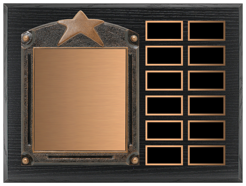 Star Legends of Fame Annual Plaque