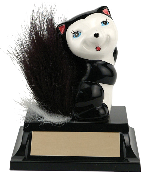 "Skunk Award - 4 1/2"" Ceramic"