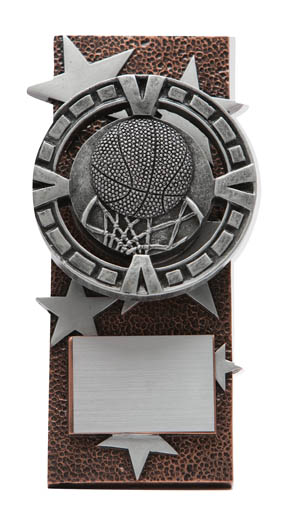 Basketball Varsity Easel Plaque