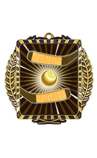Ball Hockey Lynx Sport Medal