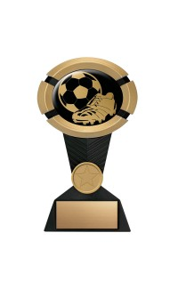 "Impact Series Soccer Award - 5"" Gold"