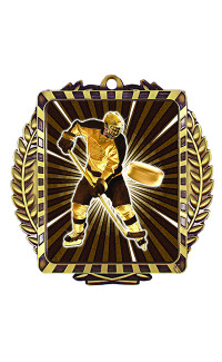 Hockey Player Lynx Sport Medal