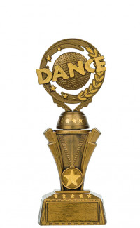 "Nexus Twister Dance - 9 1/2"" Bronze"