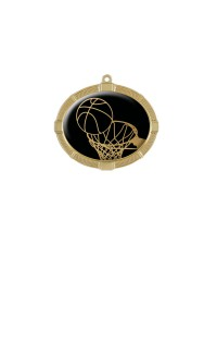 Impact Series Basketball Medals