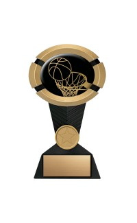 "Impact Series Basketball Award - 5"" Gold"