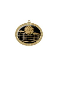 Impact Series Volleyball Medals