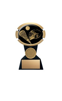 "Impact Series Lacrosse Award - 7"" Gold"
