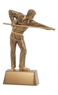 Pinnacle Billiards Trophy - 9""