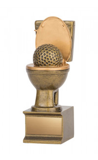 Golden Flush Award - 6""