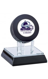 Glass Puck Display Stand