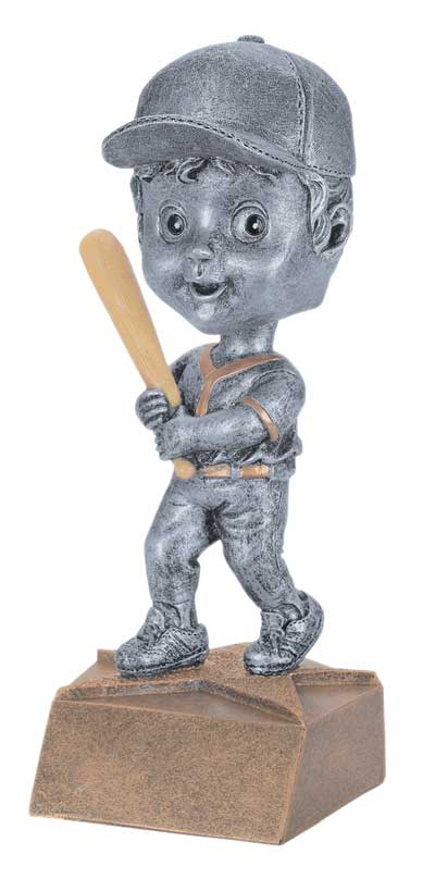 Female Baseball Bobble Head